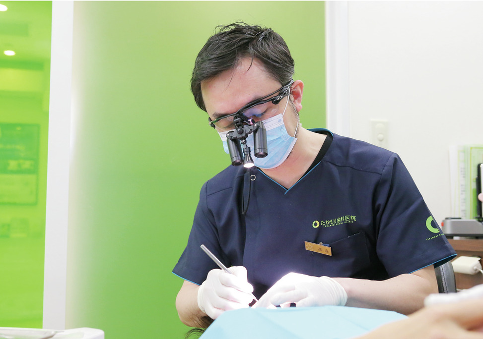 京都府のたかもり歯科医院 (ホワイトエッセンス京都西院店)の写真1