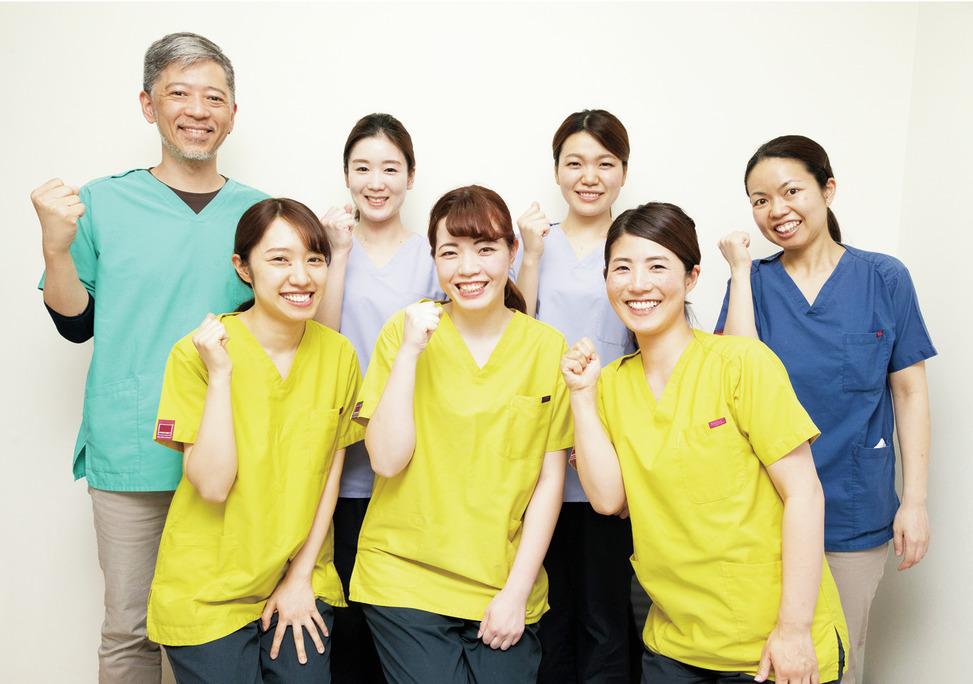 安心の労働環境を整備! スタッフを守る医院です