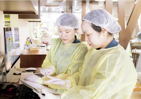 神奈川県のうえの歯科医院 Veritas Implant Salon Yokohama (ホワイトエッセンス 鶴見東寺尾)の写真2