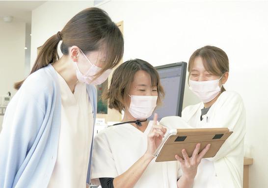 対話重視の温かい医院で 予防習慣を広めていこう!