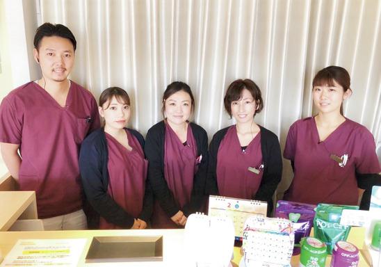 診療時間短縮!働きやすさ◎ みんなで支え合う職場です