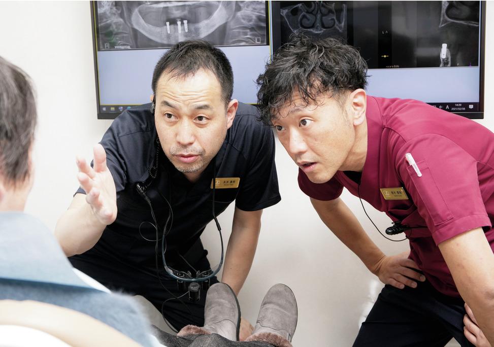 兵庫県の(1)永井歯科・矯正歯科または(2)はまうらパーク歯科・矯正歯科または(3)のまきたパーク歯科・矯正歯科の写真3