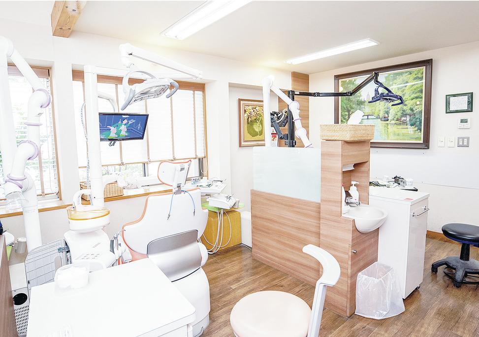 神奈川県の(1)久世歯科医院または(2)野川メディカル歯科または(3)スイート歯科クリニックまたは(4)スイート歯科クリニックプラスの写真3
