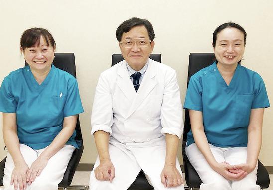 患者さんにもスタッフにも 長く愛されている医院です