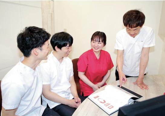 2院ともDHが多く安心感◎ 多機能型歯科医院で活躍!