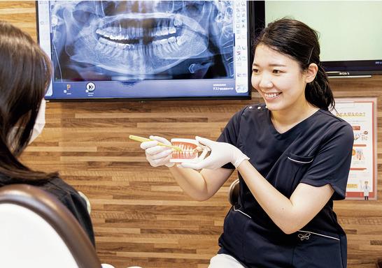 東京都の(1)森下ベリタス歯科または(2)蔵前ベリタス歯科の写真2