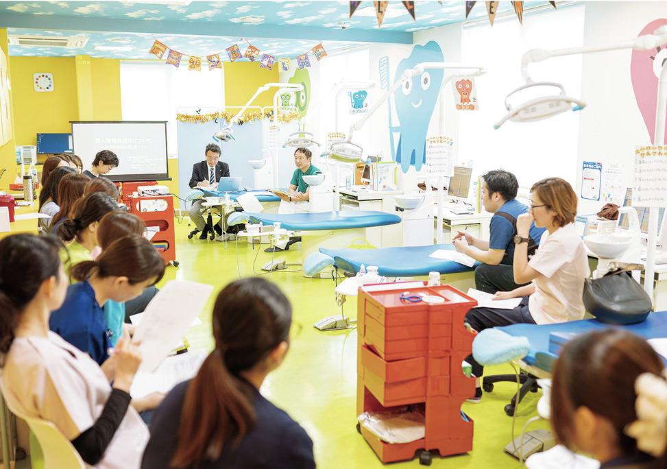 神奈川県の(1)おぎはら歯科医院または(2)横浜山手キッズデンタルパークまたは(3)みなとみらい おぎはら歯科医院または(4)みなとみらい キッズデンタルパークの写真2