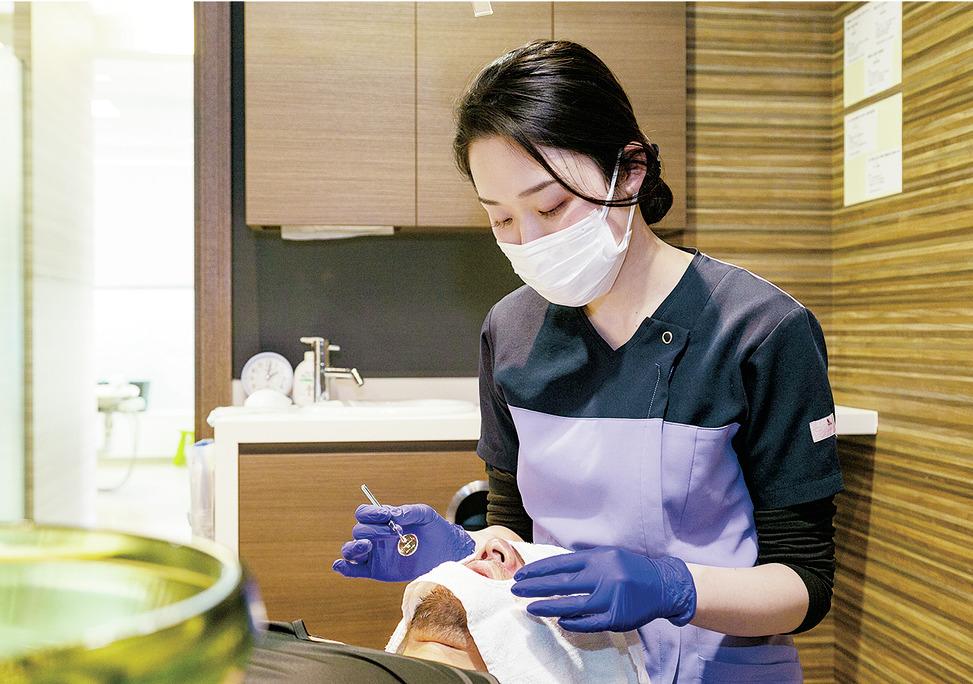 大阪府のうちの歯科クリニックの写真2