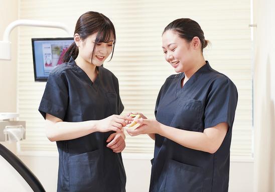 スタッフの存在が医院の要 だから環境にこだわります