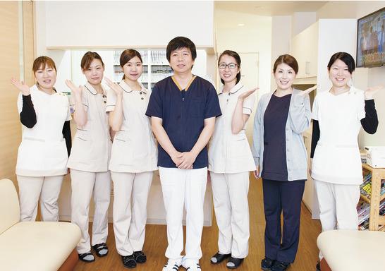 DHの存在を重視、予防や 矯正中心の優しい診療!