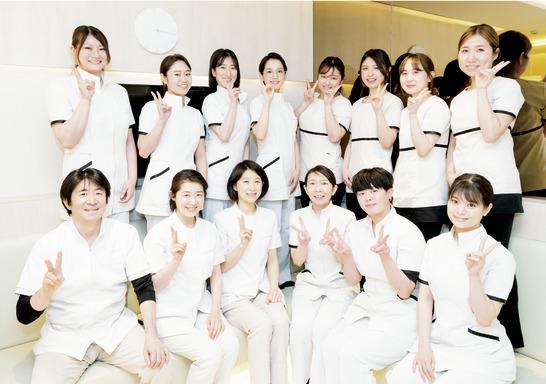 担当制の予防診療で活躍! 優しい先輩が見守ります