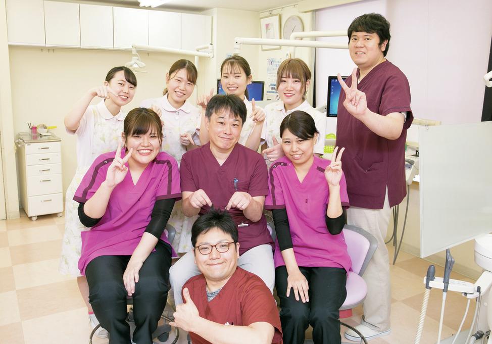神奈川県の(1)ステーション歯科または(2)永山センター歯科または(3)協同歯科クリニックの写真1