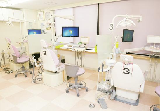神奈川県の(1)ステーション歯科または(2)永山センター歯科または(3)協同歯科クリニックの写真3