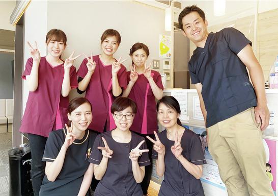 明るくキレイな医院で 予防の主役として活躍!