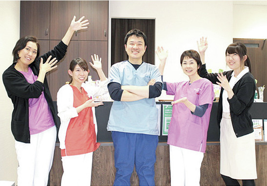 あなたのアイデアを大歓迎 スタッフ全員でつくる医院