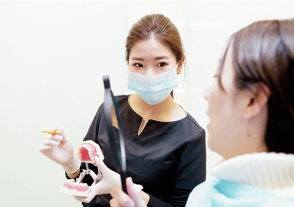 大阪府の(1)梅田アップル歯科または(2)なんばアップル歯科または(3)アップル歯科尼崎駅前の写真2