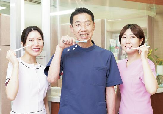 DHが主体的に活躍!予防に 関心のある患者さんが多数