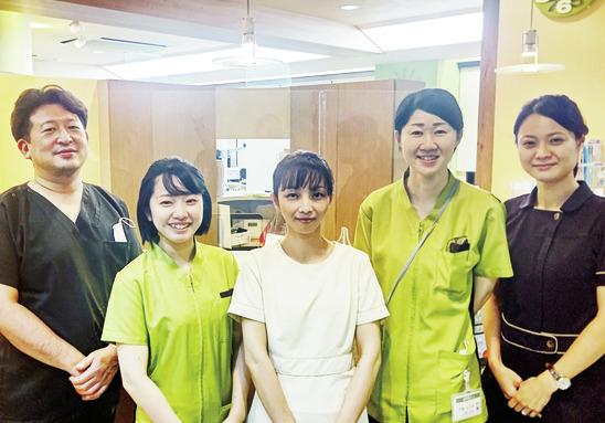 安心の「チーム医療」で 患者さんの健康をサポート
